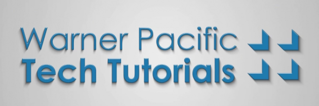 Warner Pacific Tech Tutorial: Individual Quoting Engine